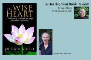 The Wise Heart book cover and author images