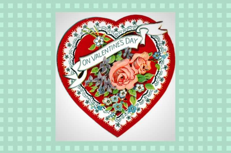 Valentine's Day Banner - heart