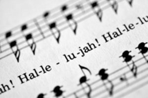 Music connects us all - Handel's Messiah score