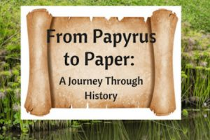 Papyrus to paper