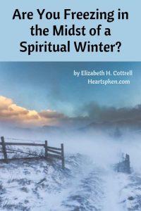 spiritual winter scene - pinterest