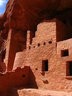 Photo of ancient Anastazi Cliff Dwelling by Tony Laidig