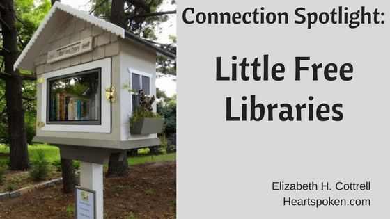 Title with picture of a little free library box