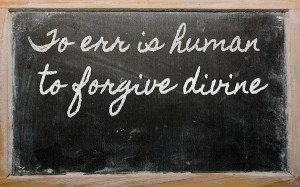 The Imperative To Forgive