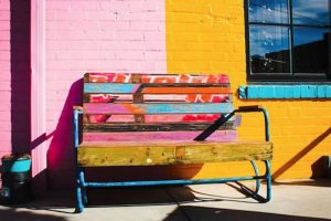 Robyn Harrison's photo of bench in Asheville, NC