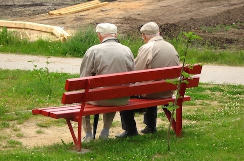 two old friends spending time together, seeking God