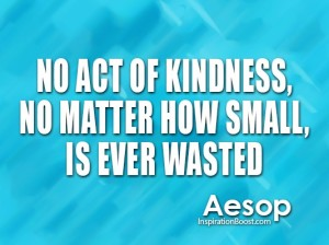 Your Tiny Acts Of Kindness Light The World!