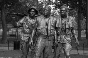 Photo of Vietnam Memorial in DC by David Spanburg