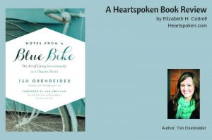 Blue Bike book cover and author image