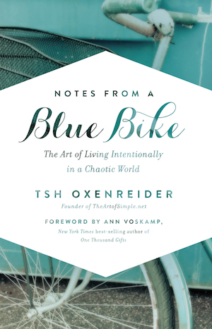 Book Review and Give-Away: Notes From A Blue Bike