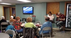 Prayer circle of fellowship
