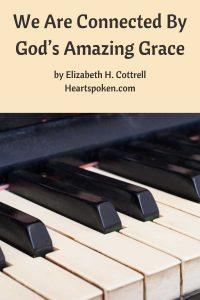 Piano keyboard - God's Amazing Grace