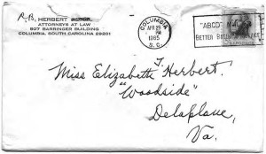 The 1957 Letter That Encouraged Me To Write