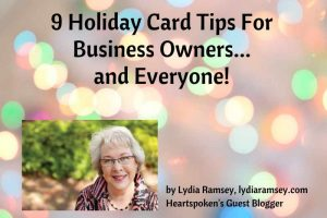 Holiday Card Tips from Lydia Ramsey