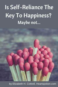 Self-Reliance - matchsticks - Pinterest