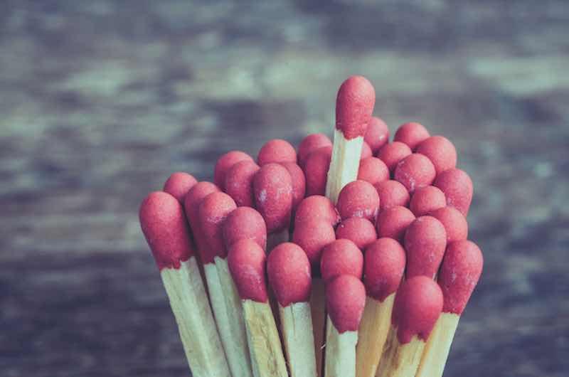 Self-Reliance: Bundle of matchsticks