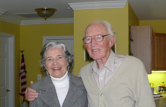 Mary and Edmund Taylor, 2007. Photo by Dr. John A. Cottrell, Jr.