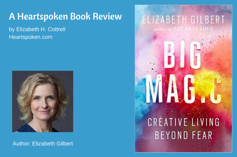 Big Magic book cover and author photo
