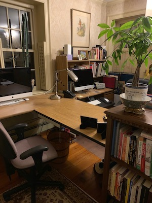 spring cleaning decluttering office