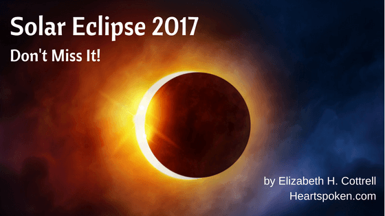 "Title ""Solar Eclipse 2017: Don't Miss It! and photo of solar eclipse"