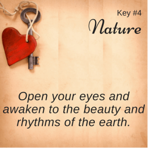 Key #4 with Heart: Nature