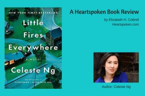Little Fires Everywhere Book Cover and author image