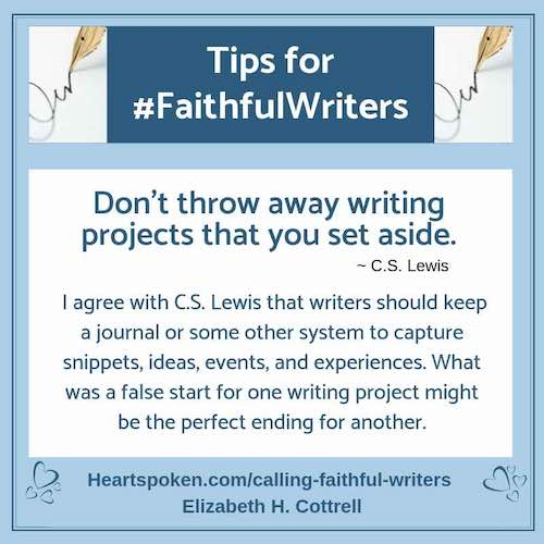 Tips for #FaithfulWriters - Save Writing