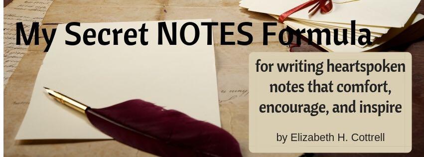 My Secret Notes Formula Cover