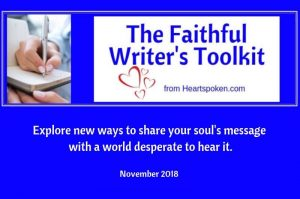 Faithful Writers Toolkit blog post