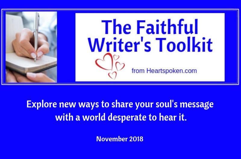 Faithful Writers Toolkit: January 2019