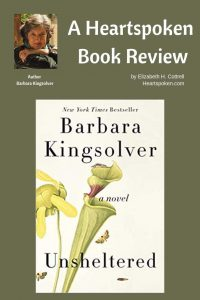 Unsheltered book cover by Barbara Kingsolver