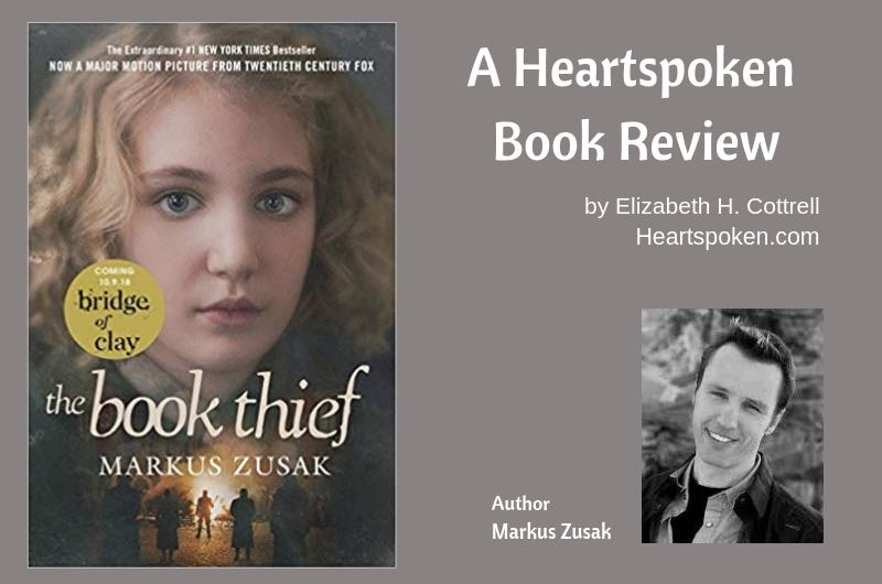 book review, title, and author: The Book Thief by Markus Zusak