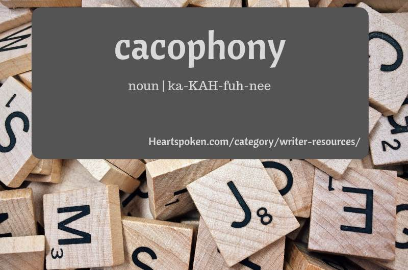 Word of the week: cacophony