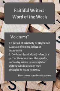 Word of the week: doldrums