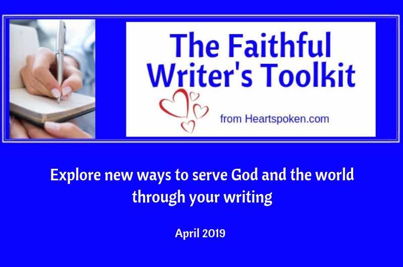 Faithful Writers Toolkit April 2019