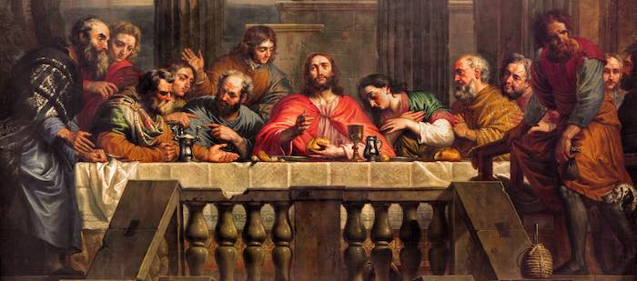 Jesus last words at the Last Supper