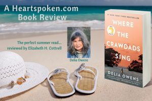 Heartspoken Book Review: Where the crawdads sing by Delia Owens