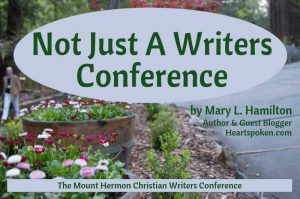 Mount Hermon Writers Conference Blog Graphic