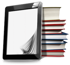 Summer Reading: Books and tablet