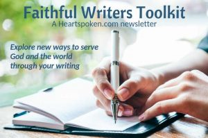 Faithful Writers Toolkit Post Graphic