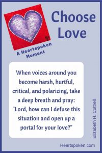 Heartspoken Moment: Choose love