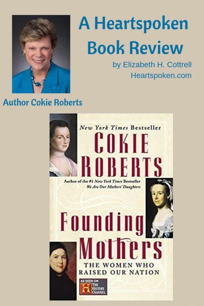 Heartspoken Book Review of Founding Mothers by Cokie Roberts