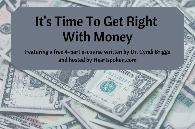 It's time to get right with money