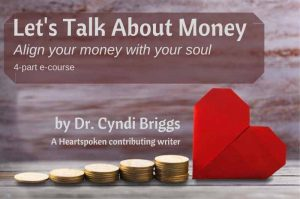 Let's Talk About Money by Cyndi Briggs Title