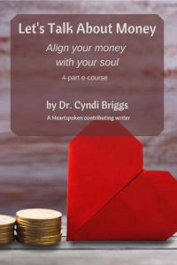 Let's Talk About Money by Dr. Cyndi Briggs  Pinterest