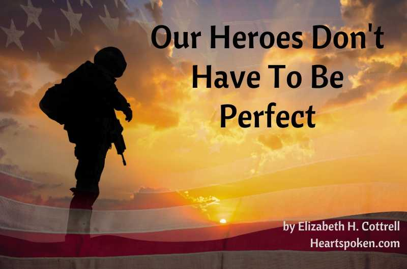 Veterans Day 2019 - Heroes Don't Have To Be Perfect