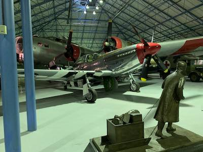 P-51 at the RAF Museum in London