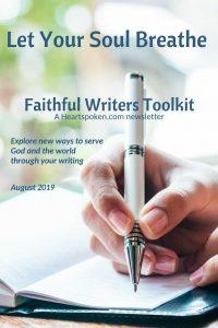 Faithful Writers Toolkit August 2019