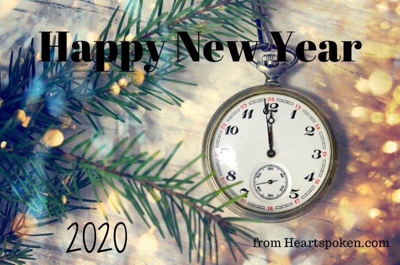 Happy New Year from Heartspoken.com