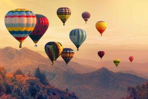 Three words for the new year: hot air balloons flying high